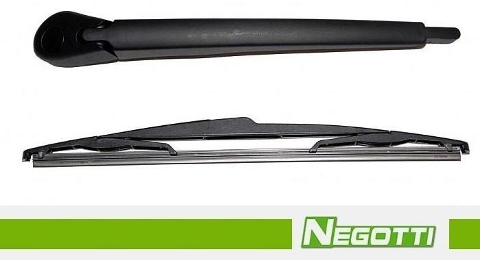 Rameno zadního stěrače RENAULT SCENIC RX4 / MEGANE s lištou (2000-2003)