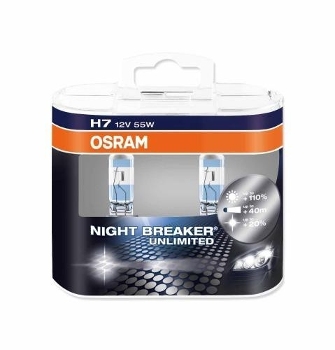 OSRAM H7 NIGHT BREAKER UNLIMITED 12V 55W DUO BOX