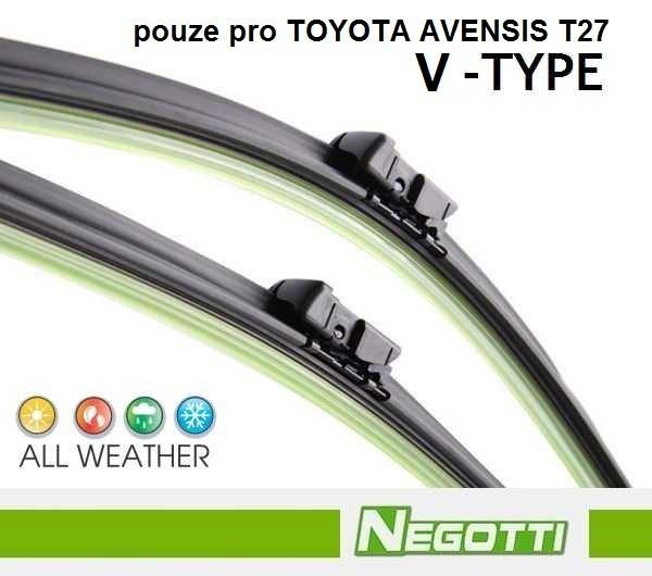 Stěrače TOYOTA AVENSIS III T27 (11/2008 - ++)