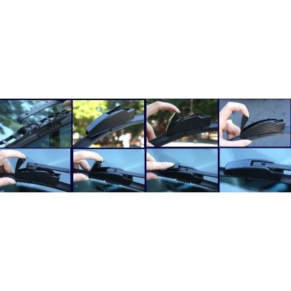 Stěrače FIAT PANDA  (2003 - 2012)