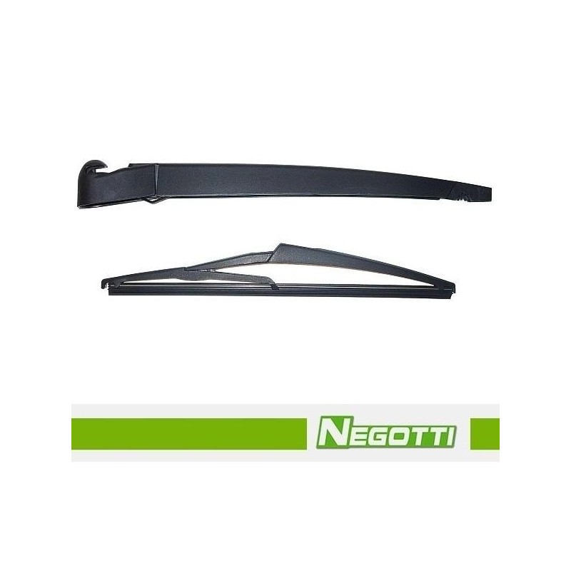 Rameno zadního stěrače MERCEDES A W169 s lištou (2004-2012) Negotti KRT134 MB A W169 5908258334340