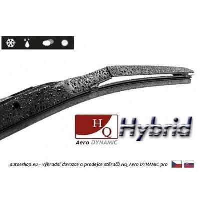 Hybridní stěrače HQ Aero Dynamic 525/475 mm