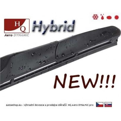 Hybridní stěrače HQ Aero Dynamic 525/450 mm