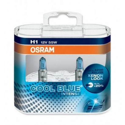 OSRAM H1 COOL BLUE INTENSE 12V 55W DUO BOX