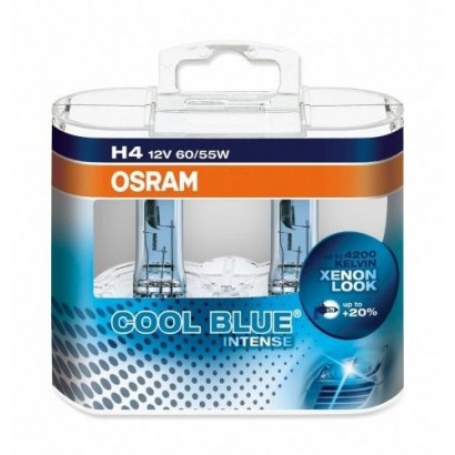 OSRAM H4 COOL BLUE INTENSE 12V 55W DUO BOX