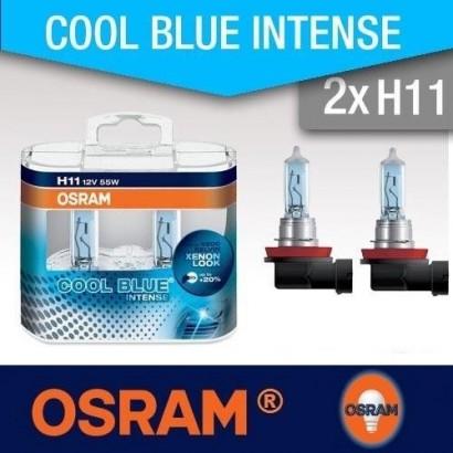 OSRAM H11 COOL BLUE INTENSE 12V 55W DUO BOX