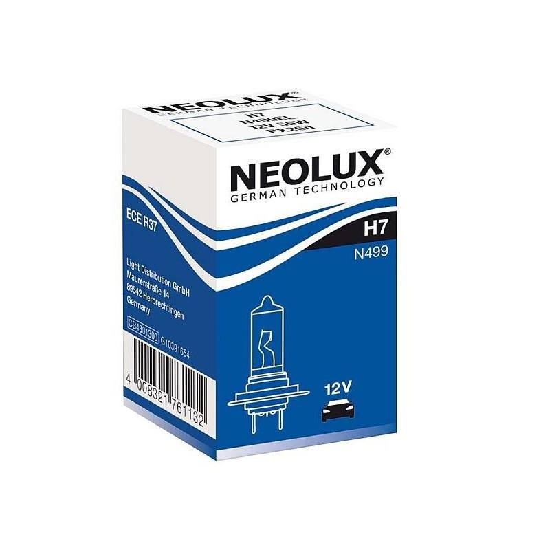HALOGENOVÁ ŽÁROVKA NEOLUX H7 12V 55W OSRAM OSRAM-NEOLUX-H7-N499 4008321765789