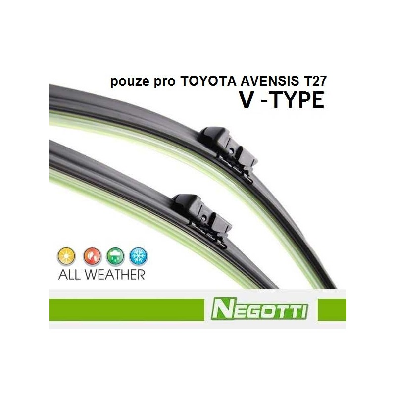 Stěrače TOYOTA AVENSIS (2008 - ++) Negotti Negotti Set-V-26/16 Toyota Avensis 4047024642041