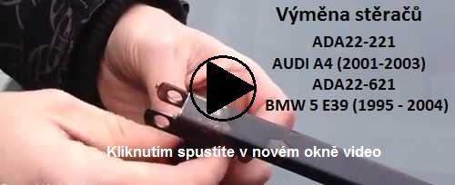 Výměna stěračů BMW 5 E39 (1995 - 2004)